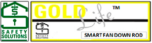 Gold Life - Anti Suicide Fan Rod / Smart Fan Rod